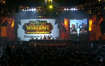 Blizzcon World of Warcraft Dungeons and Raids Panel
